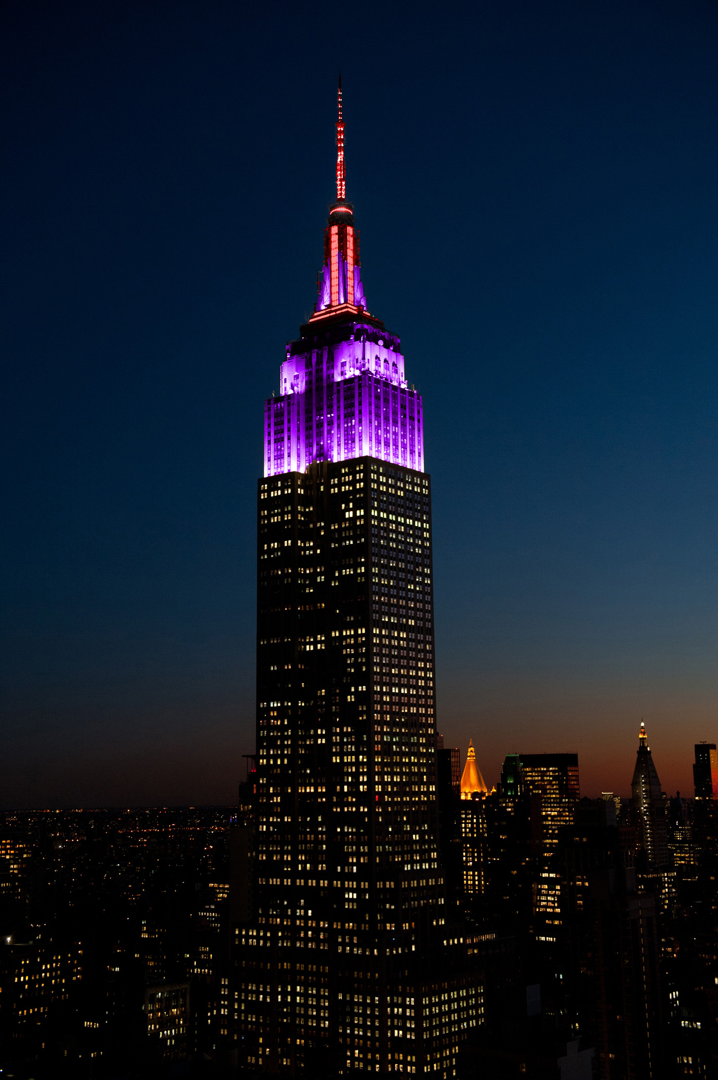 Tower Lighting 2018-11-19 00:00:00 | Empire State Building