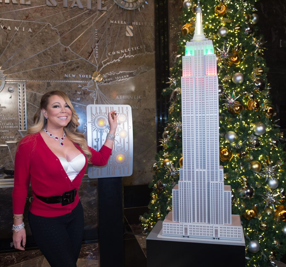 Shows For 2020 Christmas In State Of New York EMPIRE STATE REALTY TRUST AND IHEARTMEDIA COUNTDOWN TO CHRISTMAS