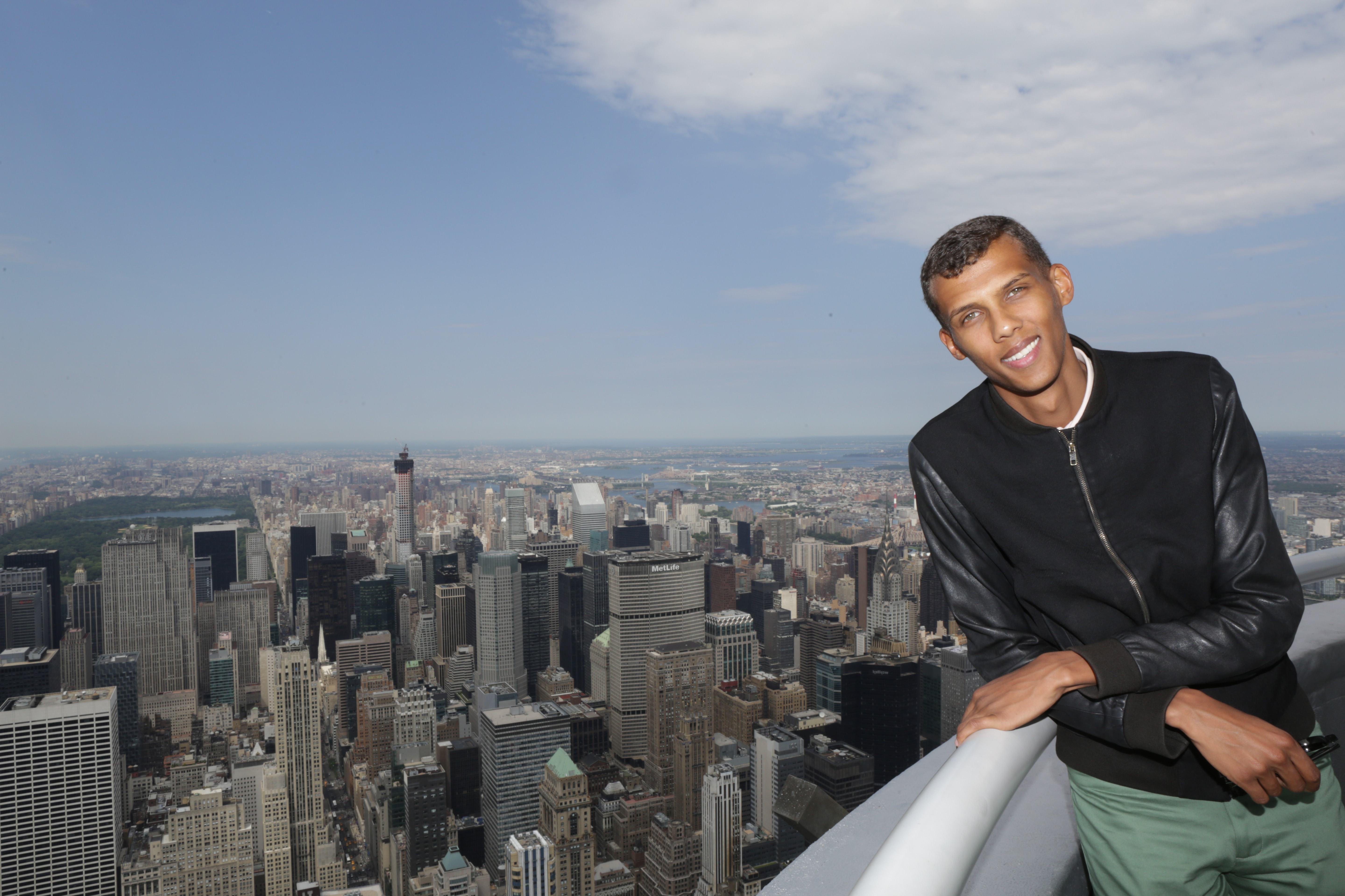 Stromae empire state building for 102 floor empire state