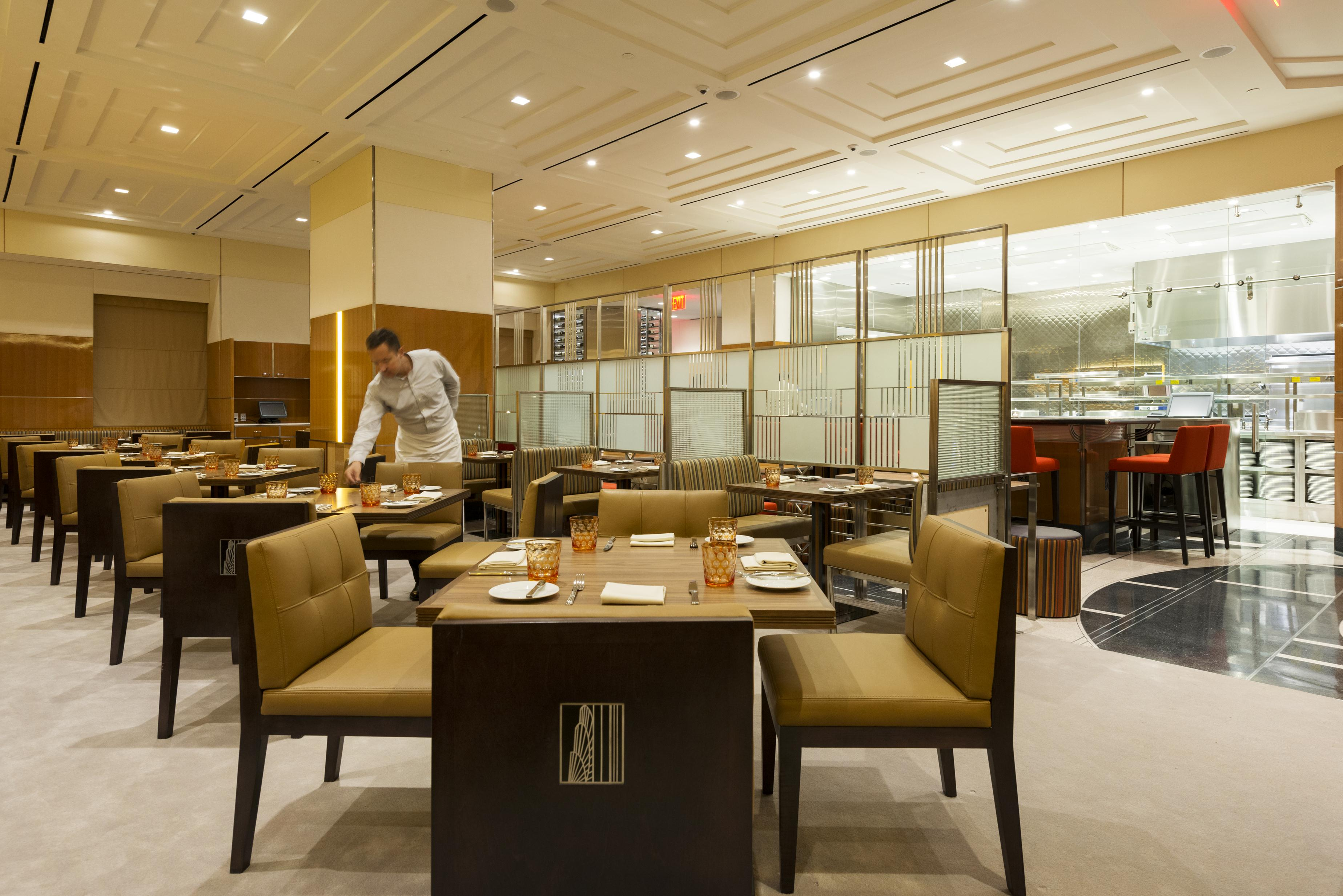 State grill and bar grand opening at esb empire state building - Restaurant bar and grill ...