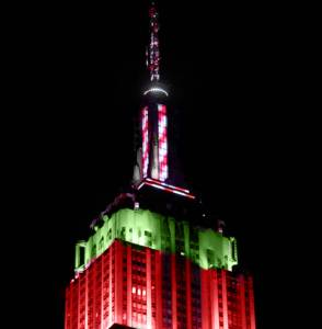 Empire State Building Christmas 2020 Calendar | Empire State Building