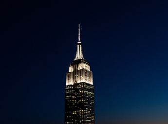 The Empire State Building In New York City Is