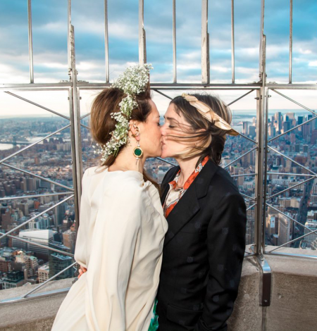 Valentines Day at the Empire State Building