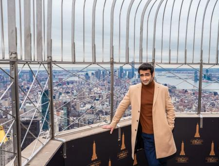 Kumail Nanjiani visits the Empire State Building