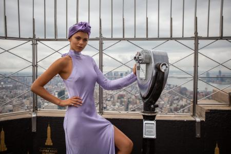 Georgia Fowler visits the Empire State Building