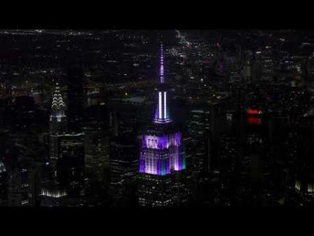 Empire State Building – Robin Hood – Shawn Mendes - Music-to-Light Show