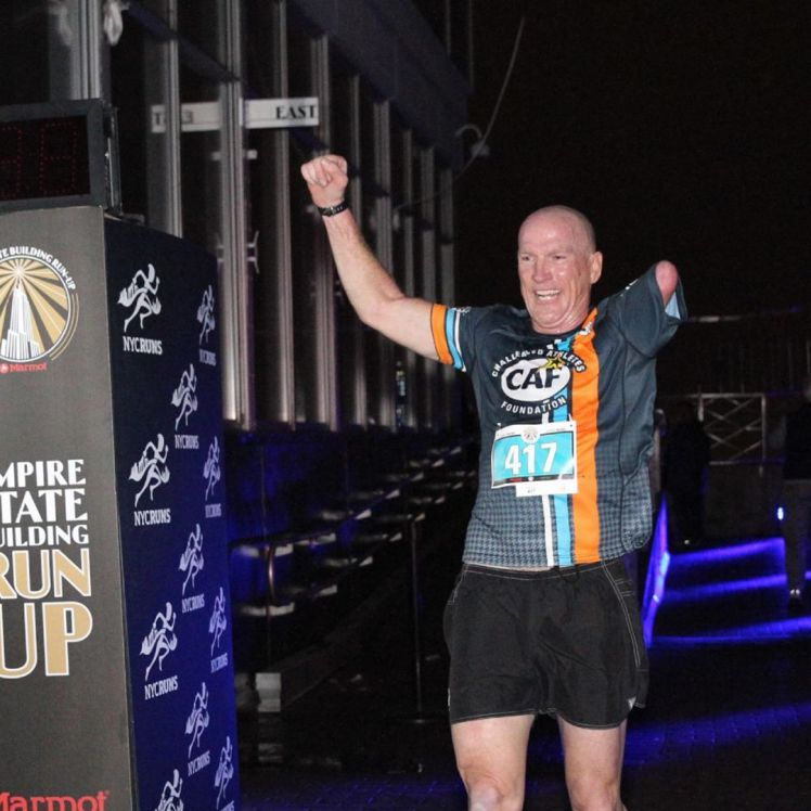 Challenged Athlete Completes Empire State Building Run-Up