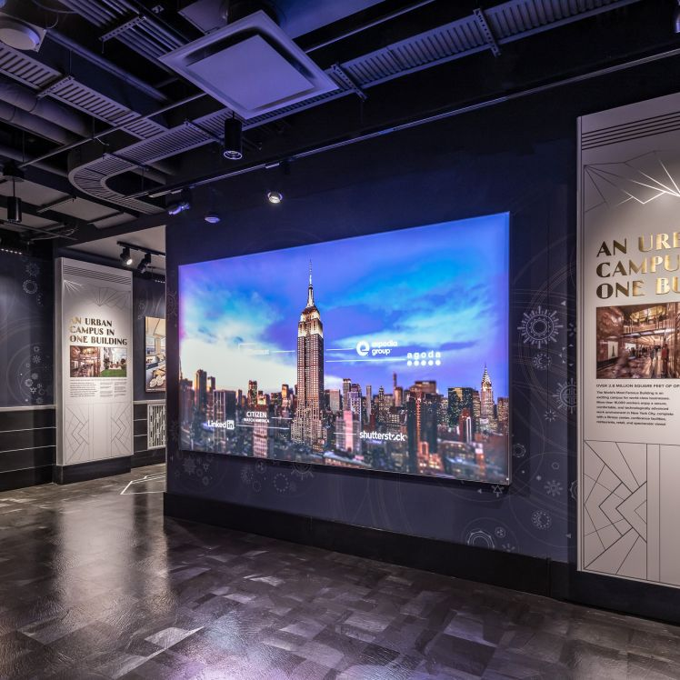 Urban Campus Exhibit at Empire State Building