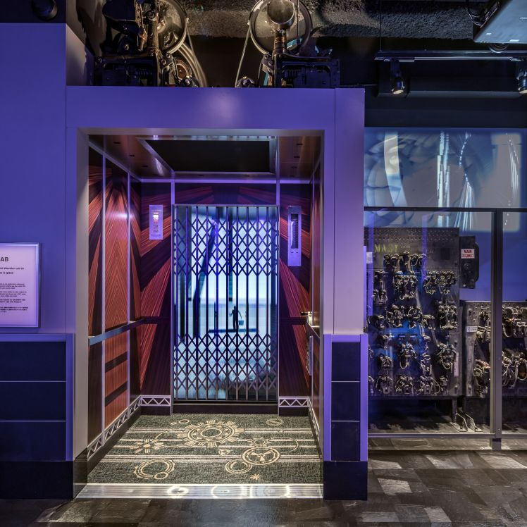 Empire State Otis Elevator Exhibit