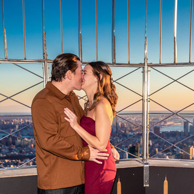 Empire State Building Engagement