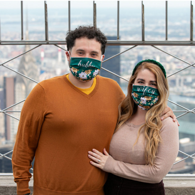 Couple Visits Empire State Building Safe