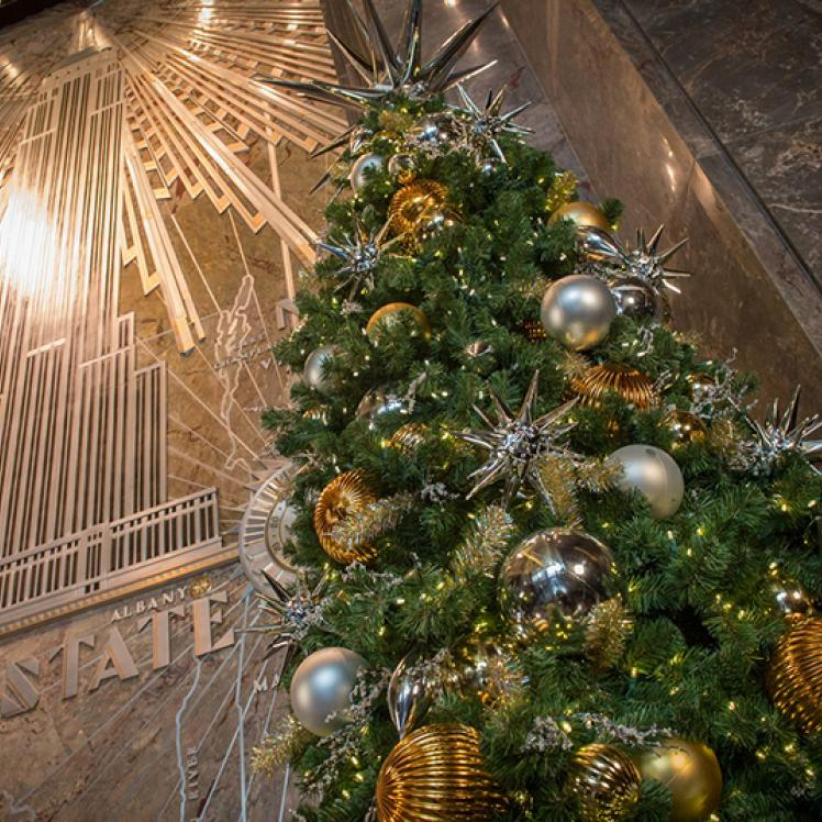 Holidays at Empire State Building