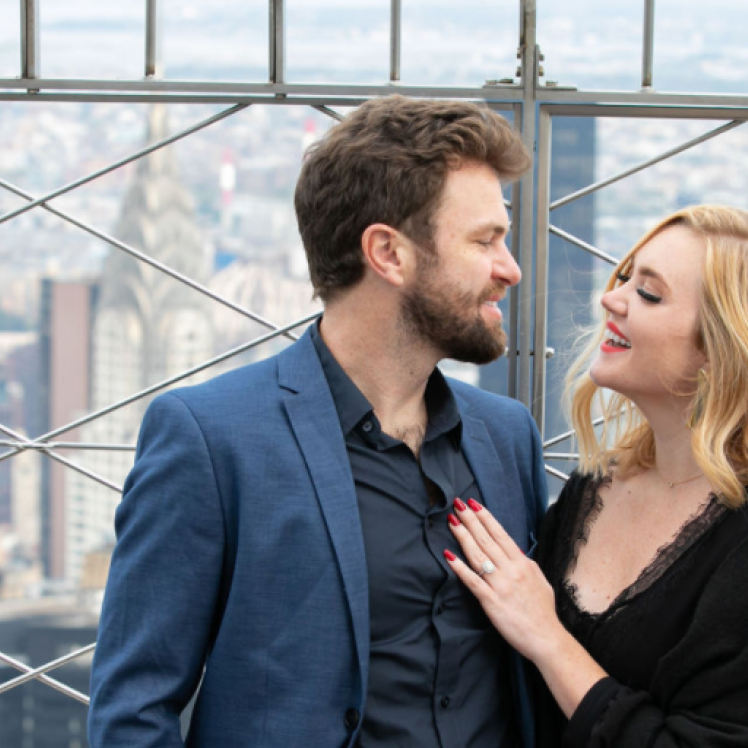 Love at Empire State Building