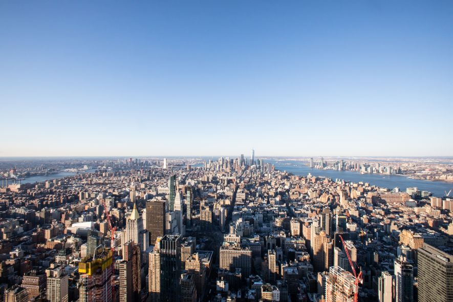 Image result for view from the empire state building