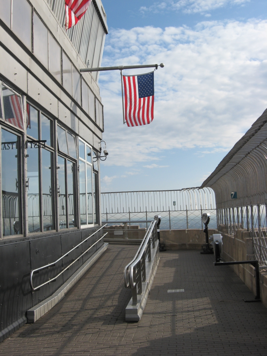 Empire State Building Observation Deck 86th Floor Observatory...
