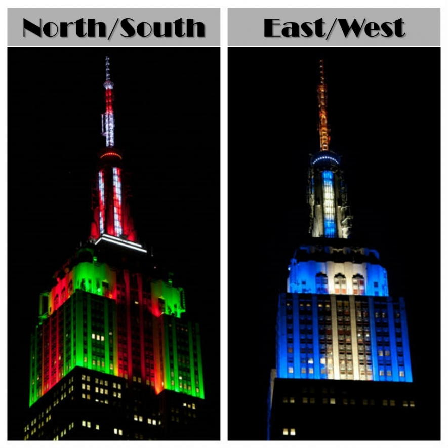 Tower Lighting 2014-12-24 00:00:00   Empire State Building