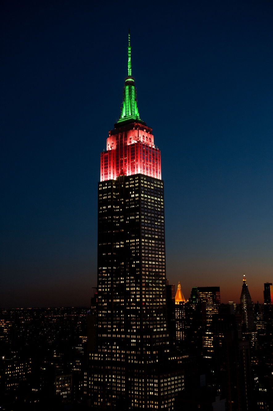 Tower Lighting 2016-11-15 00:00:00   Empire State Building