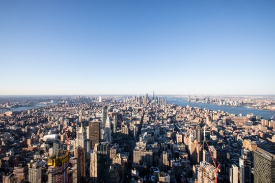 The Empire State Building Observation Deck - View From the Top
