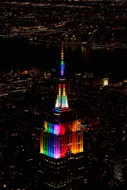 On Sunday, June 24, 2018, The Empire State Building Will Be Lit Rainbow In  Honor Of NYC Pride And 2018 Pride Week.