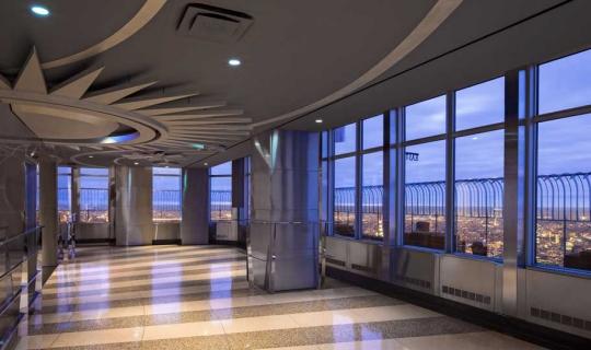 Hauptaussichtsplattform 86 etage empire state building for 102 floor empire state